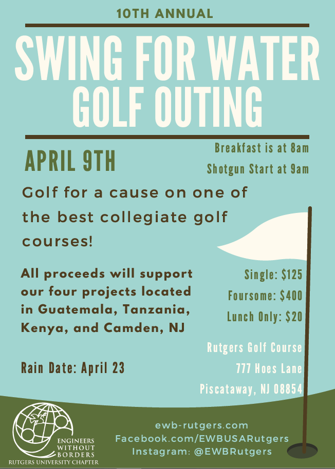 golf outing 2018 flyer
